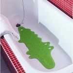 Ikea Kids Patrull Bathtub Mat Crocodile Green