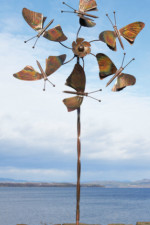 Kinetic Art Sculpture | Wind Spinners