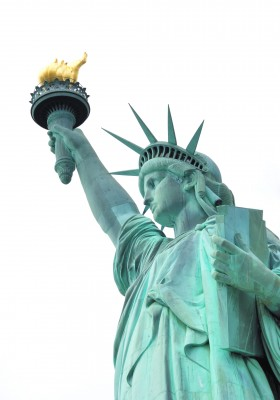 Patina on Statue of Liberty